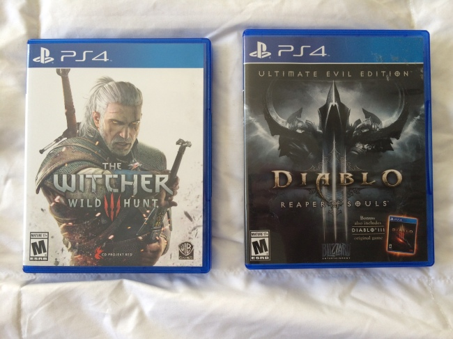 The Witcher 3 and Diablo 3